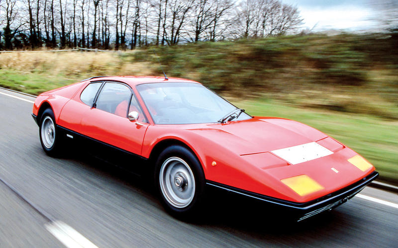 Ferrari 365 GT4 BB (1973) - Moteur central arrière