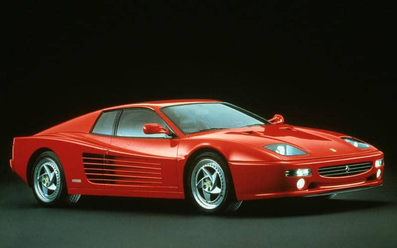 Ferrari F512 M (1994) - Moteur central arrière