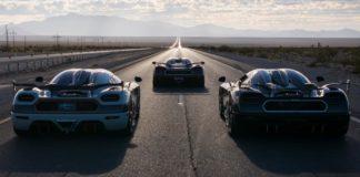 Koenigsegg Record du monde de Vmax pour l'Agera RS