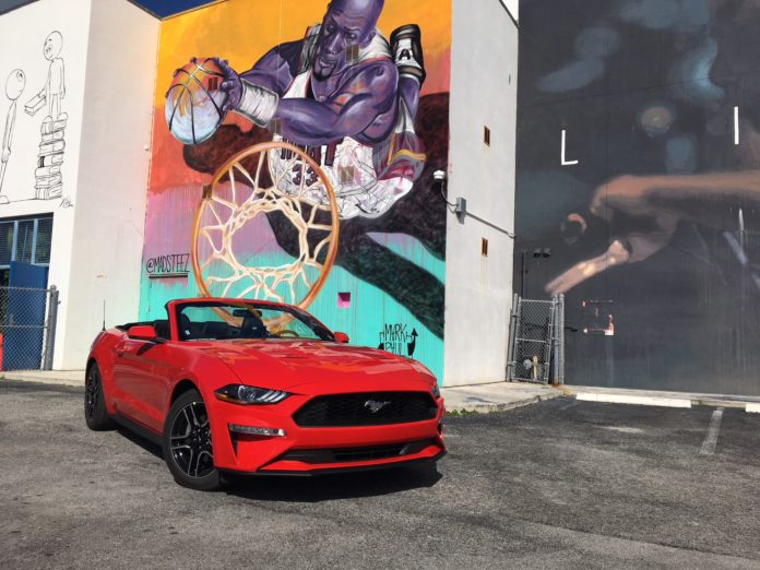 Ford Mustang EcoBoost 2018 : roadtrip USA