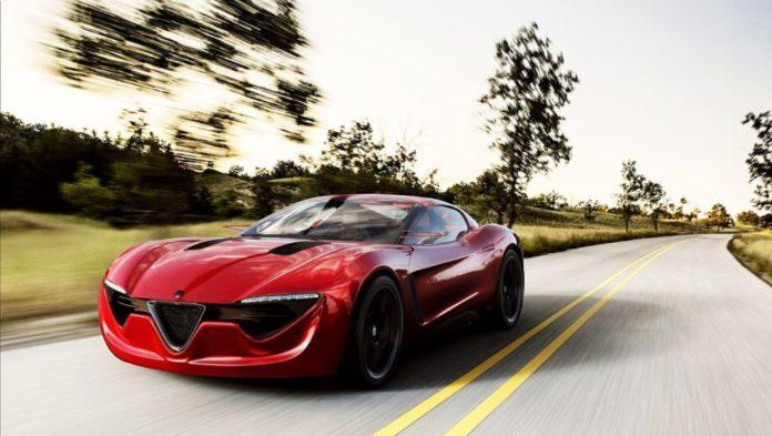 Alfa Romeo 6C concept