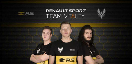 Renault s'engage dans l'eSports avec Team Vitality