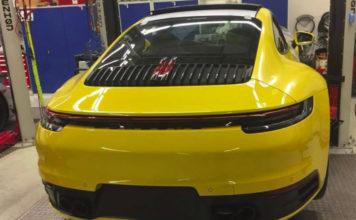 Porsche 911 type 992 fuite sur Instagram