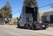 Tesla Semi Truck : video de son acceleration