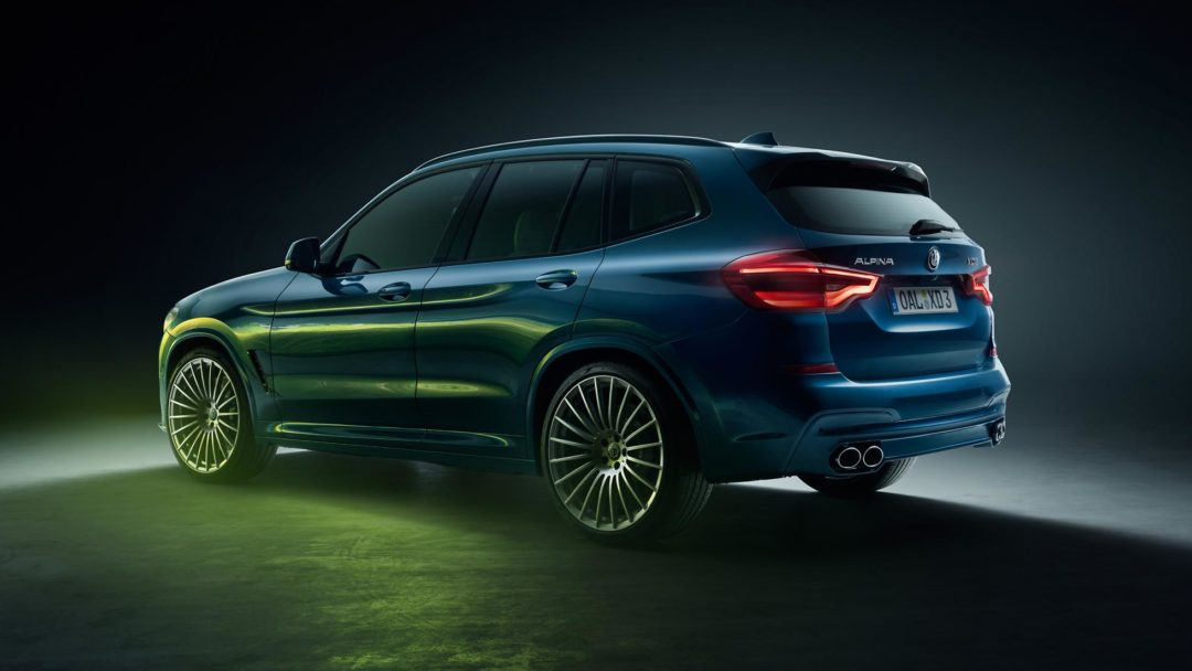 ALPINA XD3 BMW SUV diesel avec 4 turbos
