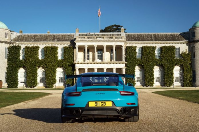 Goodwood Festival of Speed, Porsche à l'honneur pour l'édition 2018
