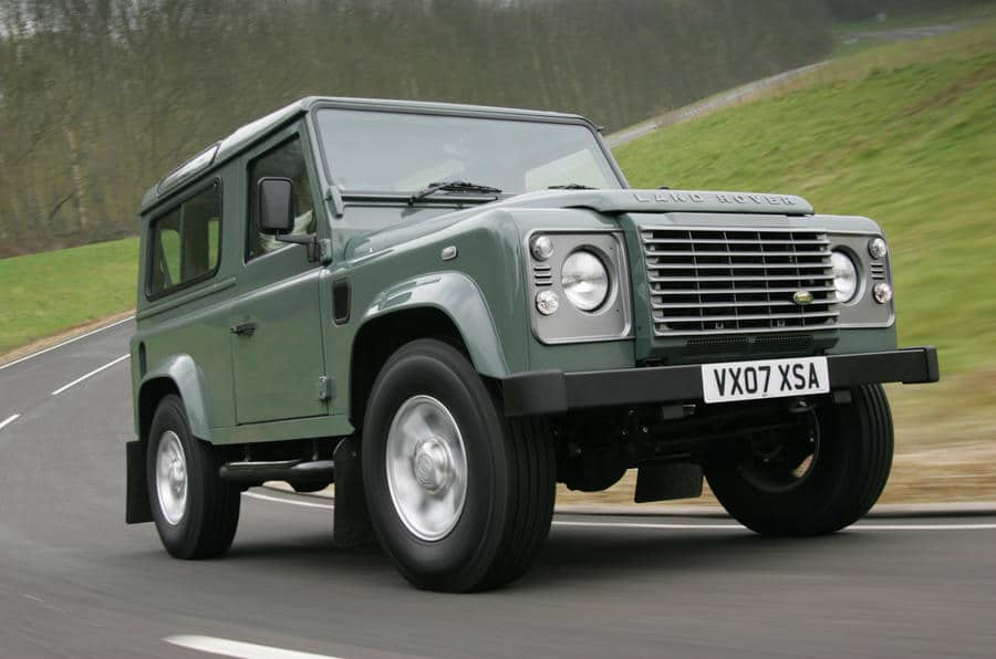 Defender - top 10 voitures innovantes