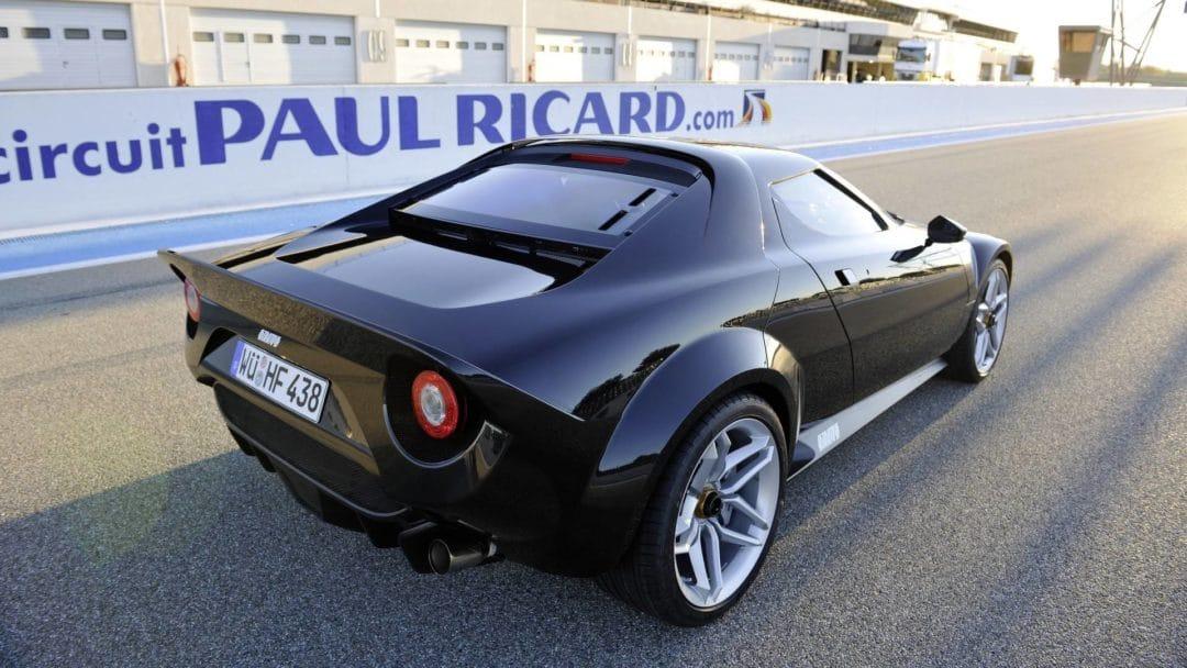 La nouvelle Lancia Stratos au Circuit Paul Ricard