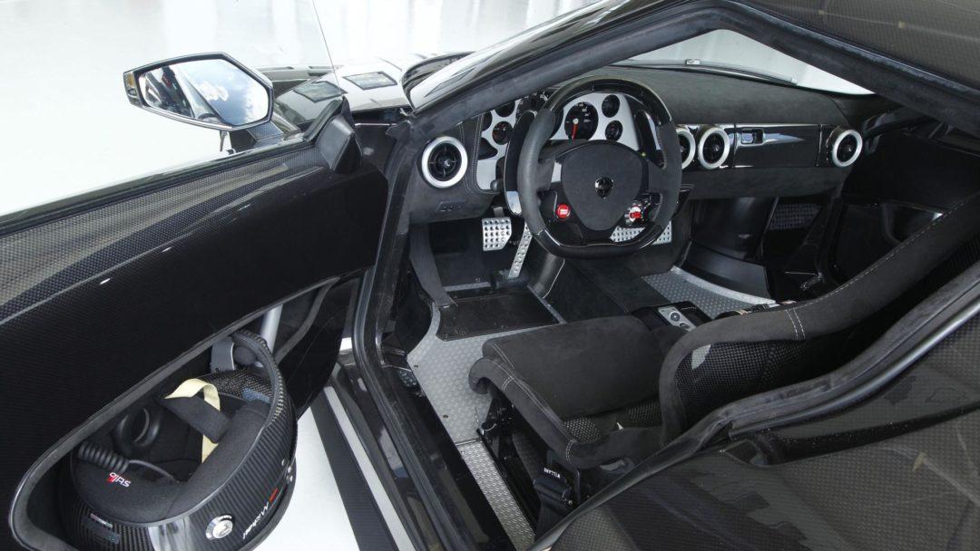 Intérieur de la nouvelle Lancia Stratos 2018