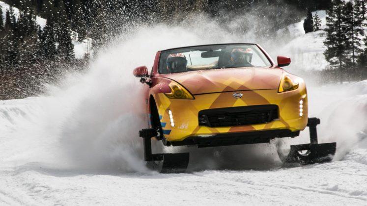 Nissan 370Zki snowmobile 1