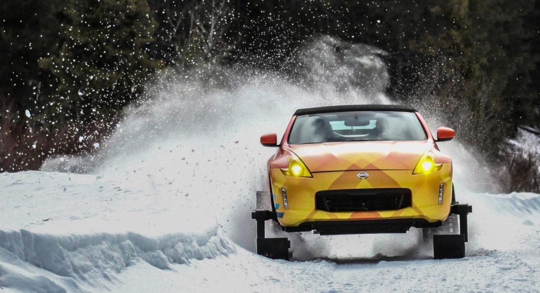 Nissan 370Zki snowmobile 2
