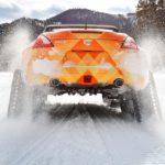 Nissan 370Zki snowmobile 3