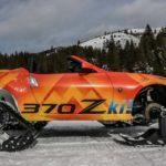 Nissan 370Zki snowmobile 6