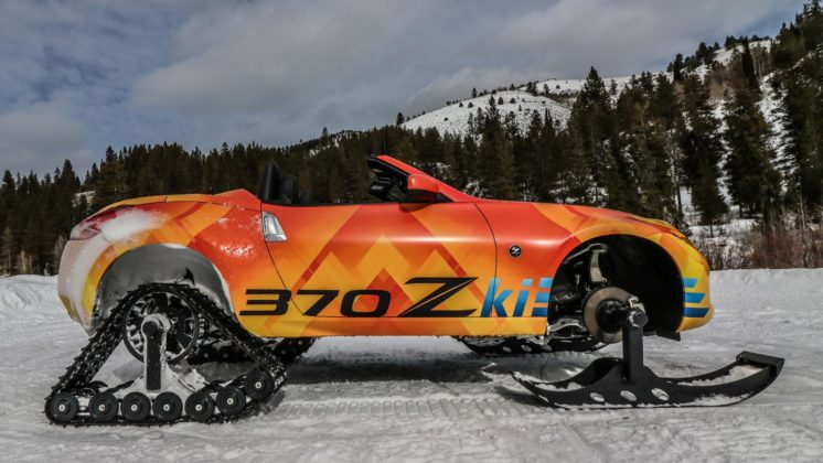 Nissan 370Zki snowmobile 6