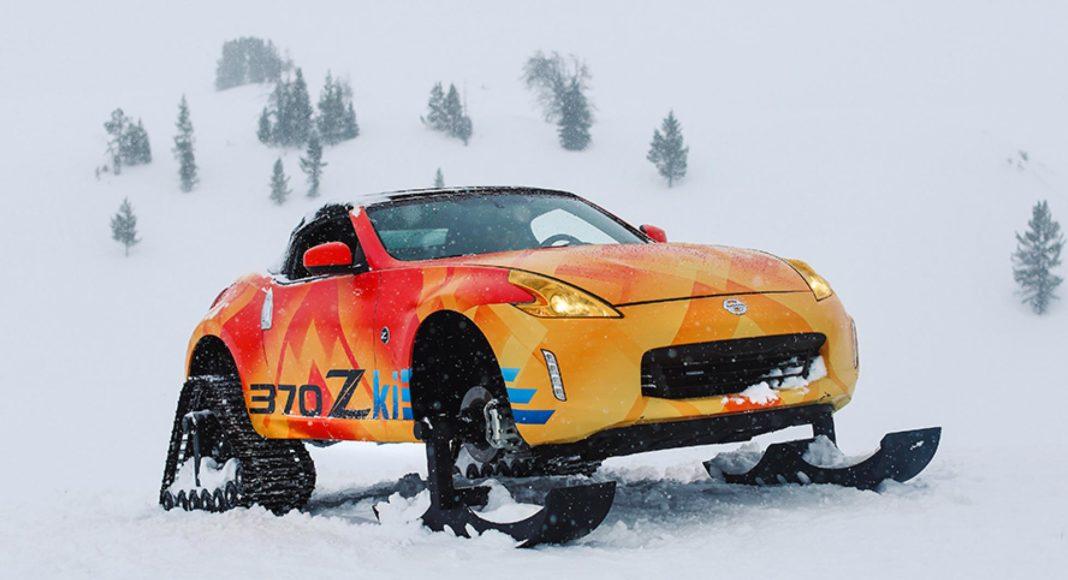 Nissan 370Zki snowmobile 7