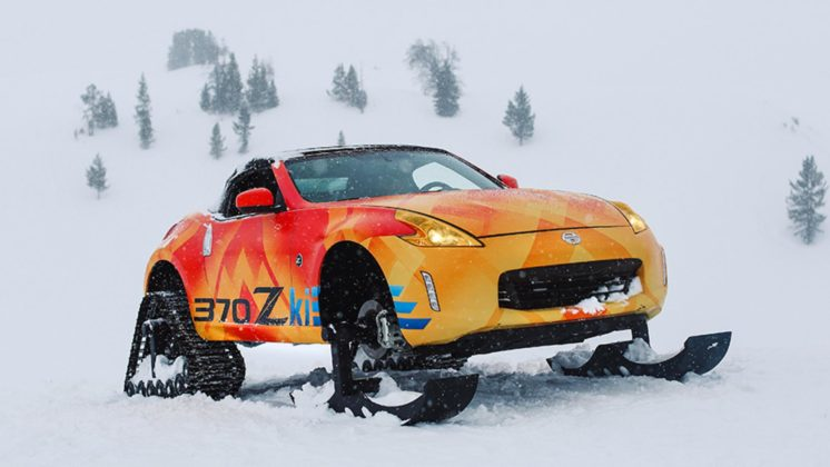 Nissan 370Zki snowmobile 7