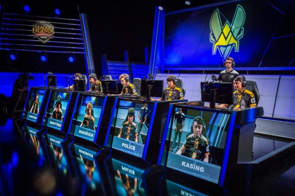 Team Vitality sur League of Legend