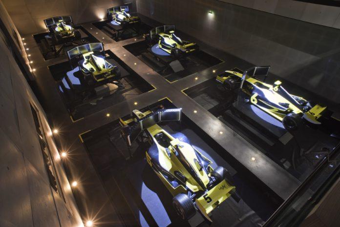 i-Way Formule 1 Lyon Simulateur