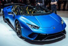 Genève 2018 : Huracan Performante Spyder