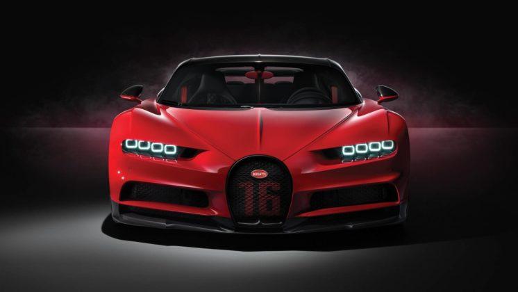 (12) Bugatti Chiron Sport - Genève 2018