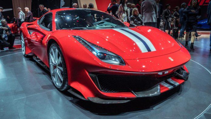 Ferrari 488 Pista au Salon de Genève 2018