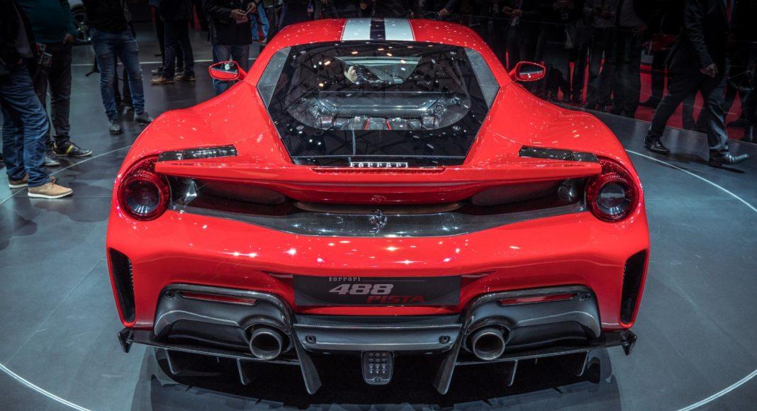 Ferrari 488 Pista au Salon de Genève 2018 (11)