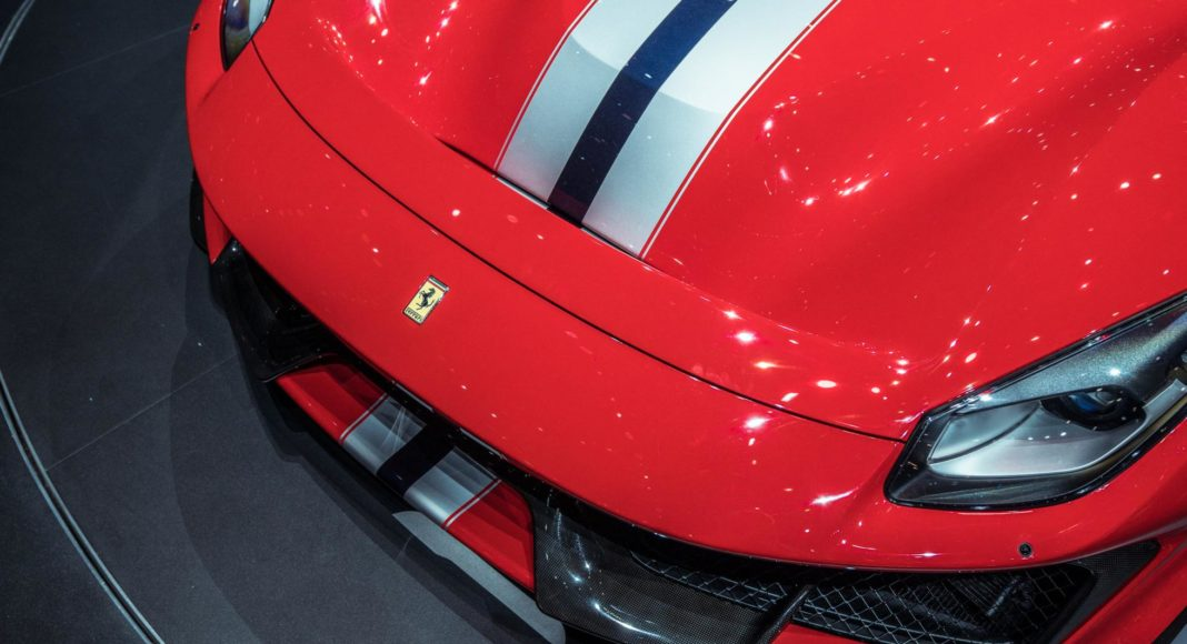 Ferrari 488 Pista au Salon de Genève 2018 (2)