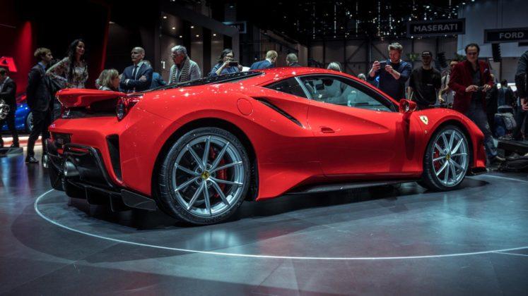 Ferrari 488 Pista au Salon de Genève 2018 (10)
