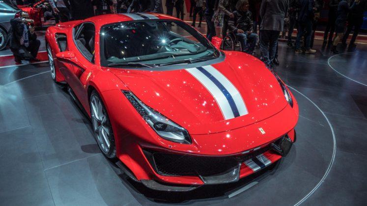 Ferrari 488 Pista au Salon de Genève 2018 (9)