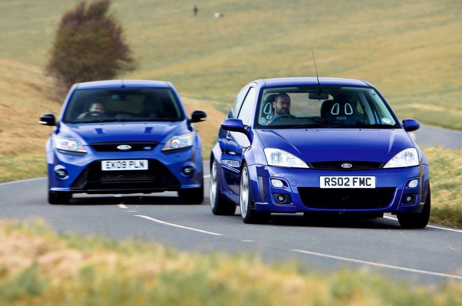 Ford Focus RS mk1 et mk2