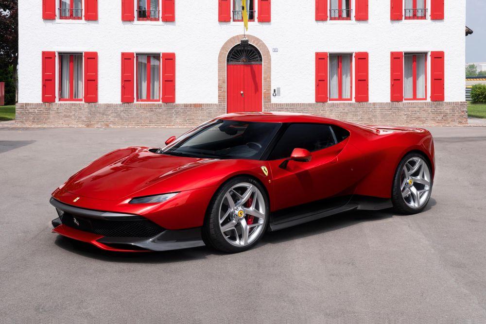Ferrari SP38 : nouveau modèle, mais produit à un exemplaire !