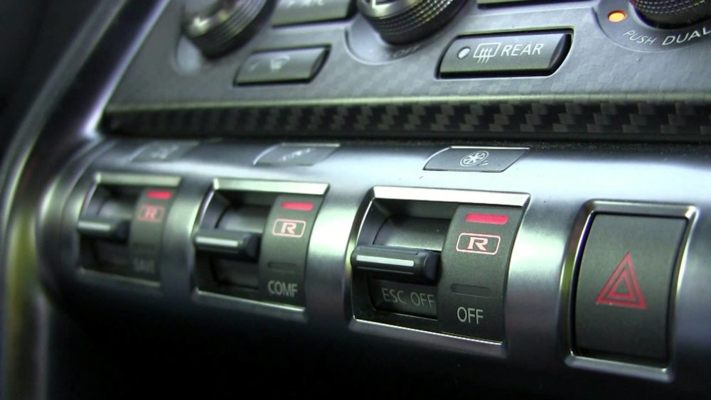 Nissan GT-R launch control