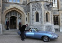 Jaguar Type E Zero du Royal Wedding