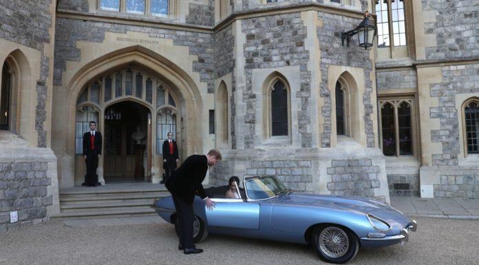 Jaguar Type E Zero du Royal Wedding