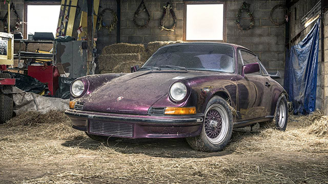 Porsche occasion dirty