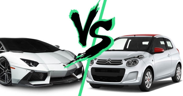 Occasion, Lamborghini versus C1
