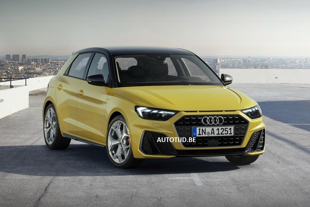 les images de l 39 audi a1 2019 leak avant la pr sentation officielle. Black Bedroom Furniture Sets. Home Design Ideas