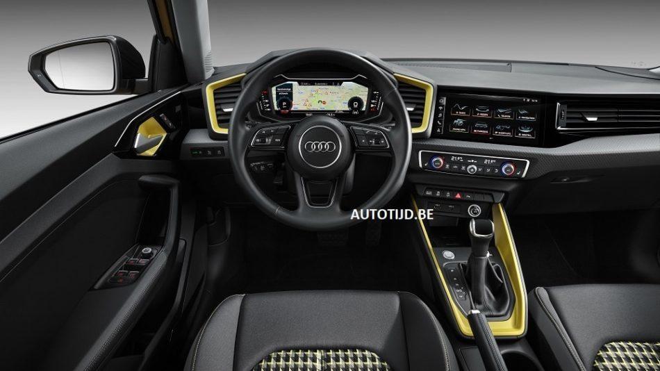 Audi A1 2019 leak