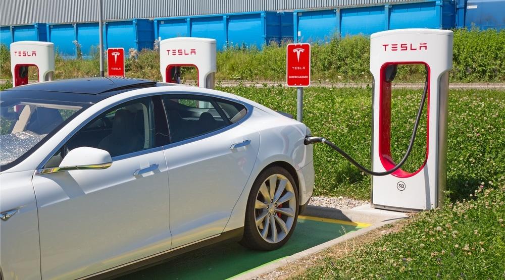 Voiture électrique : superchargeurs