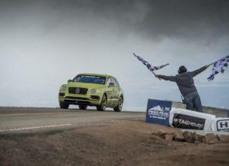 La Bentley Bentayga gagne à Pikes Peak