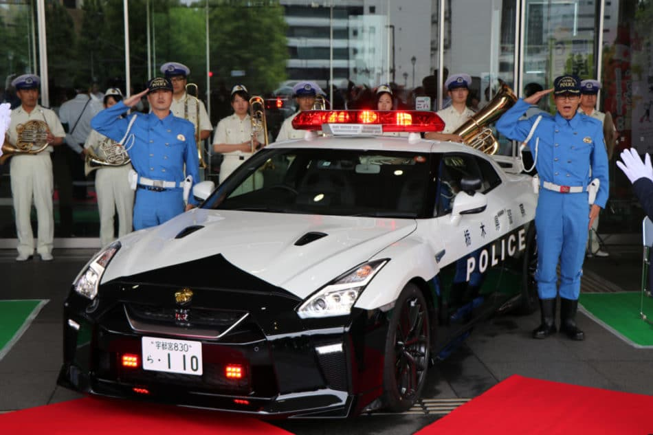 Police Japon Nissan GT-R