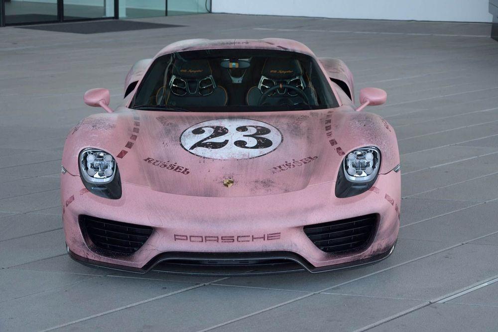 Porsche 918 Spyder Pink Pig