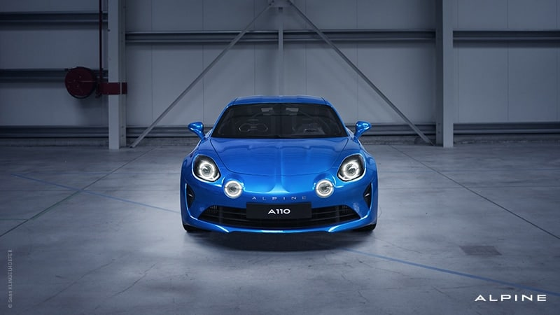 Alpine A110 Hertz France