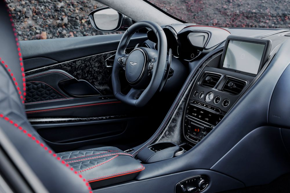 DBS Superleggera Interieur Habitacle