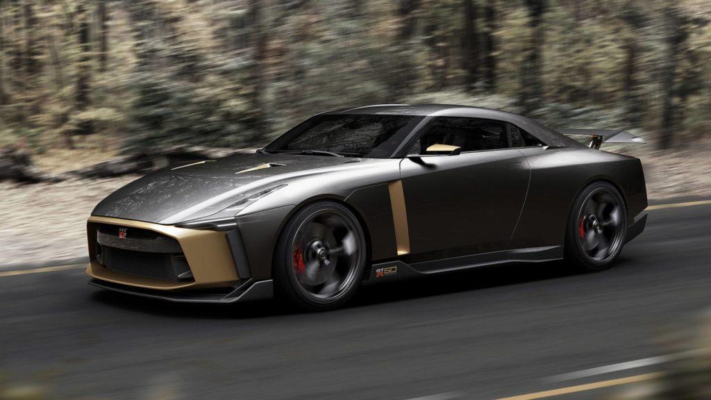 Prototype GT-R50 de Nissan et Italdesign