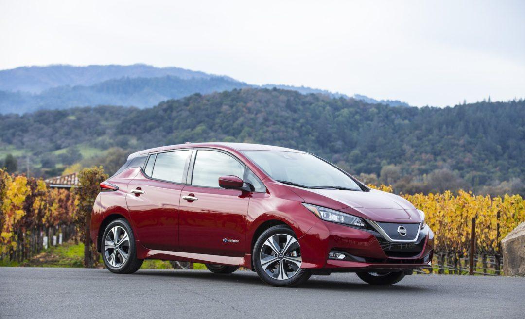 Voiture électrique : Nissan Leaf