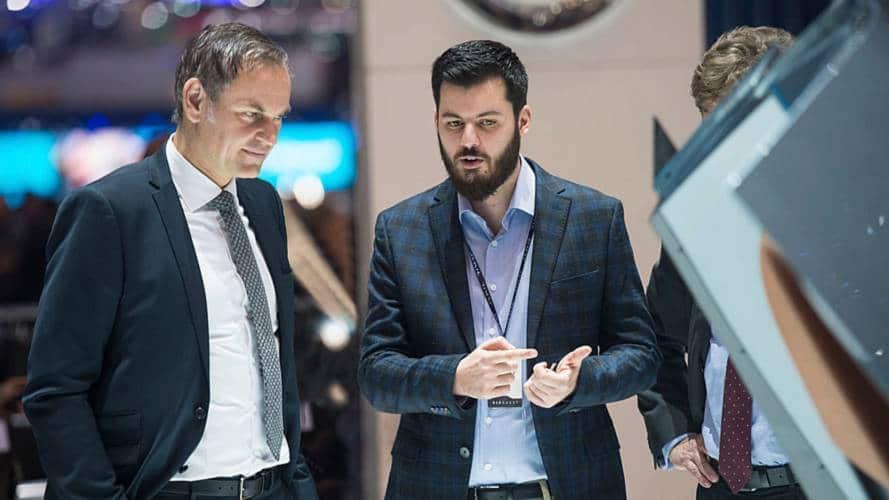 CEO de Porsche et Rimac