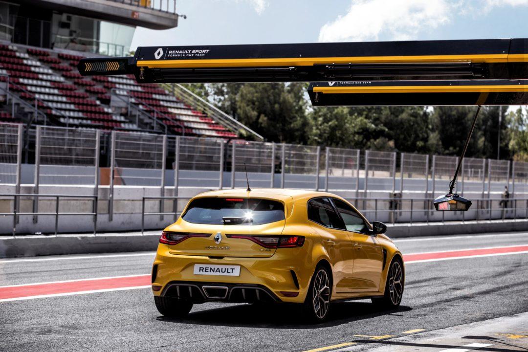 Circuit de dos Renault Megane RS Tropgy