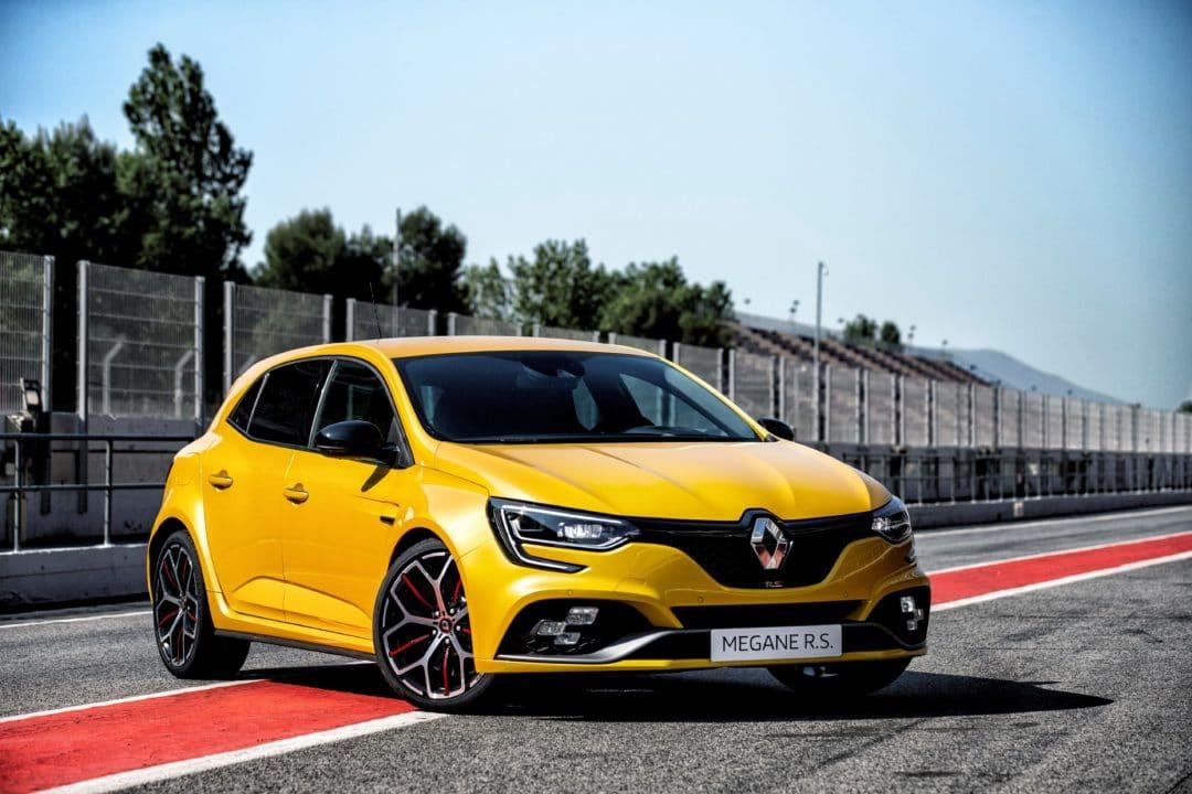Circuit face avant Renault Megane RS Trophy