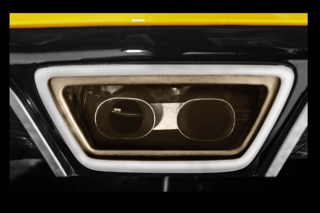 Échappement clapet Renault Megane RS Trophy